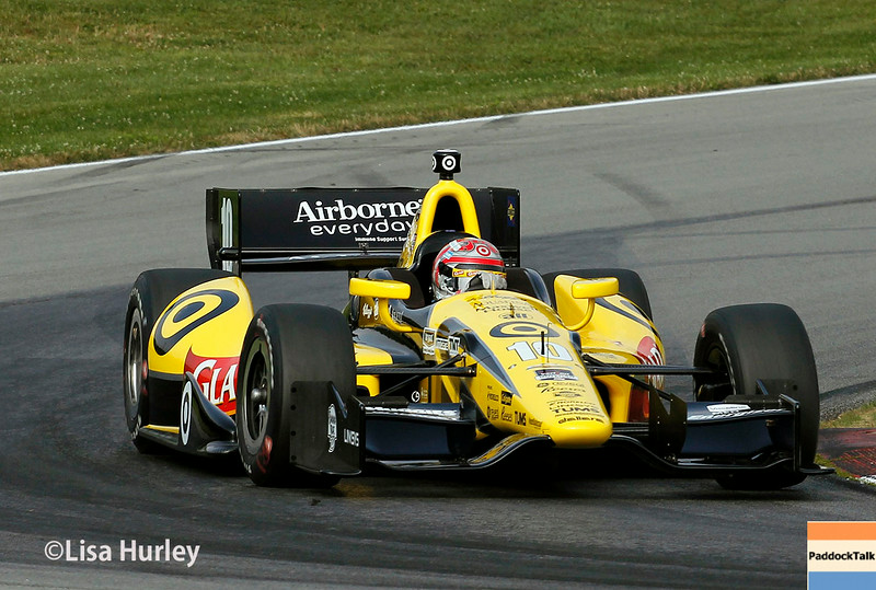 August 2: Tony Kanaan at The Honda Indy 200 at Mid-Ohio.