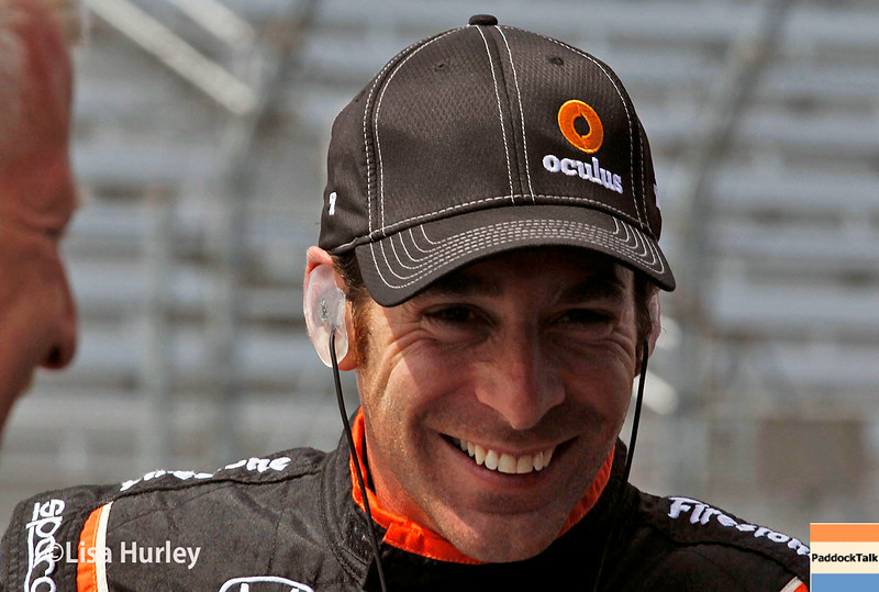 August 16: Simon Pagenaud at the Wisconsin 250 at Milwaukee Indyfest.