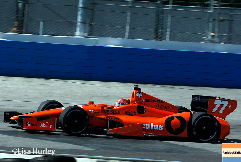 August 17: Simon Pagenaud at the Wisconsin 250 at Milwaukee Indyfest.