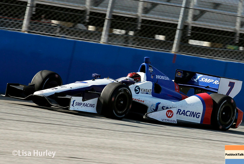 August 17: Mikhail Aleshin at the Wisconsin 250 at Milwaukee Indyfest.