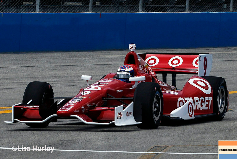 August 16: Scott Dixon at the Wisconsin 250 at Milwaukee Indyfest.