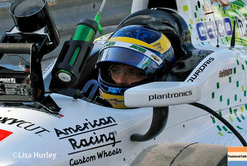 August 16: Sebastien Bourdais at the Wisconsin 250 at Milwaukee Indyfest.