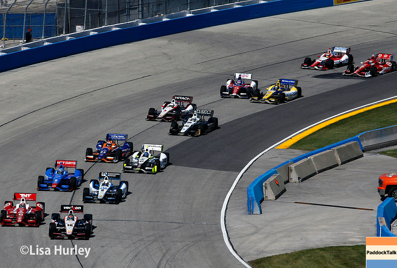 August 17: Track action at the Wisconsin 250 at Milwaukee Indyfest.