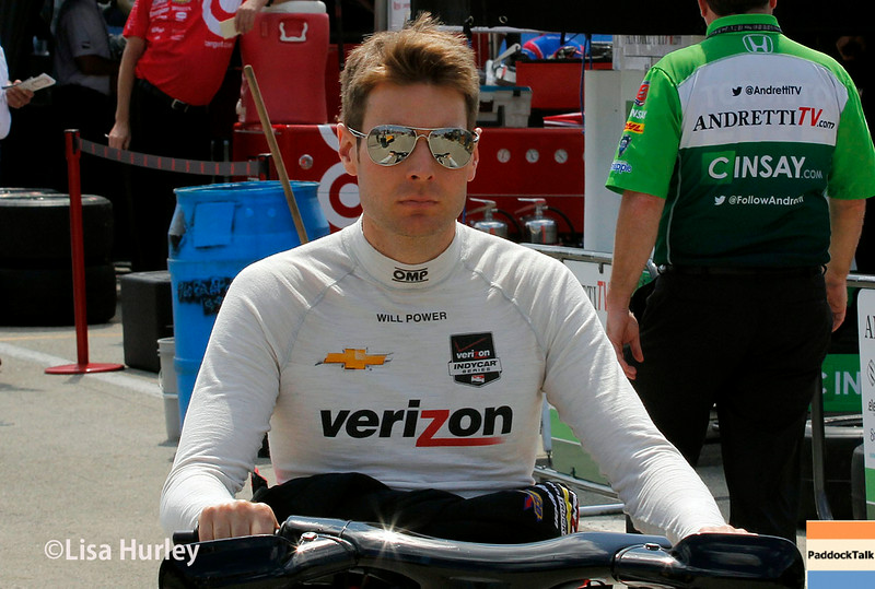 August 16: Will Power at the Wisconsin 250 at Milwaukee Indyfest.