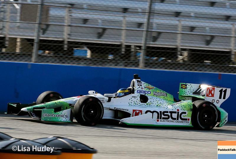 August 17: Sebastien Bourdais at the Wisconsin 250 at Milwaukee Indyfest.