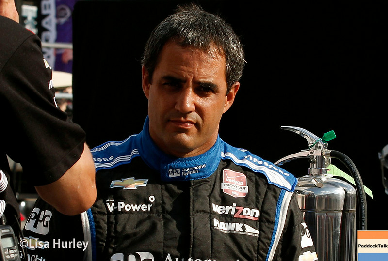 August 16: Juan Montoya at the Wisconsin 250 at Milwaukee Indyfest.