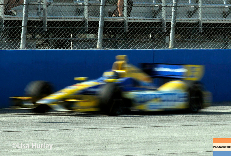 August 17: Marco Andretti at the Wisconsin 250 at Milwaukee Indyfest.