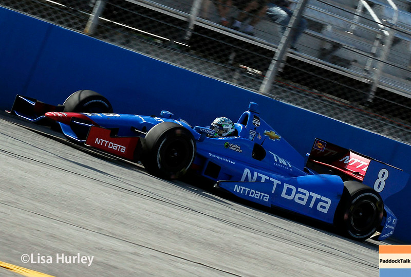 August 17: Ryan Briscoe at the Wisconsin 250 at Milwaukee Indyfest.