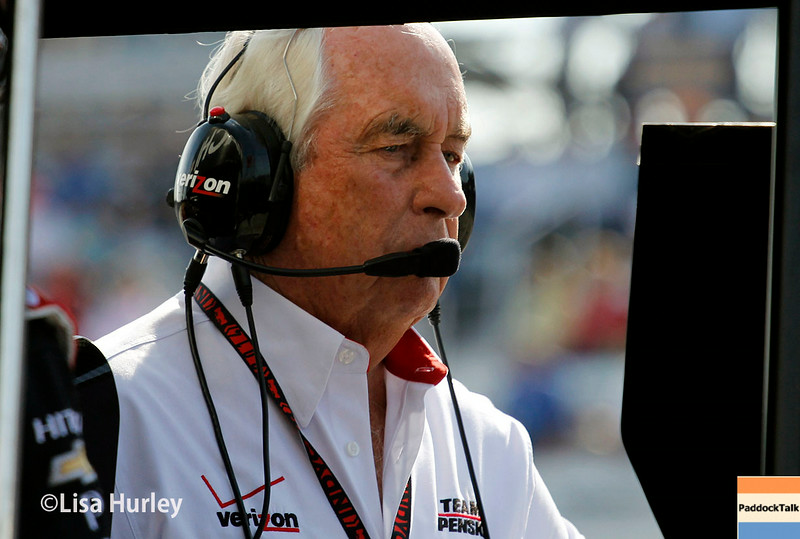 August 17: Roger Penske at the Wisconsin 250 at Milwaukee Indyfest.