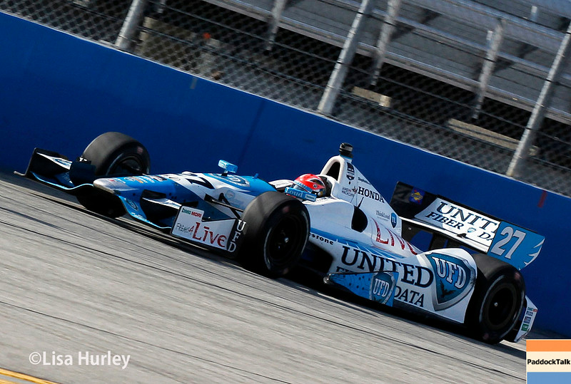 August 17: James Hinchcliffe at the Wisconsin 250 at Milwaukee Indyfest.