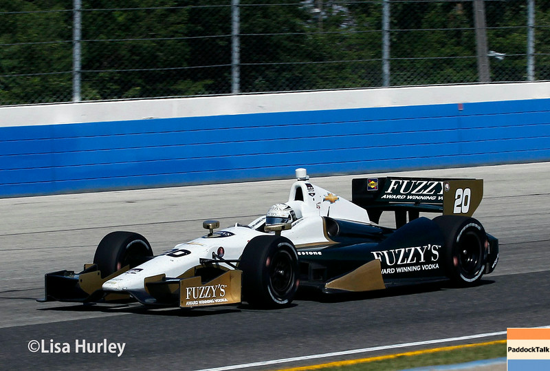 August 17: Ed Carpenter at the Wisconsin 250 at Milwaukee Indyfest.