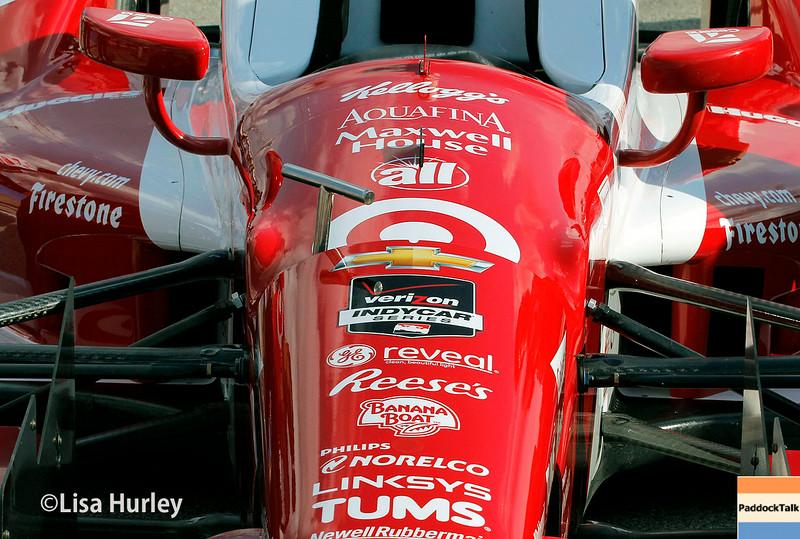 August 16: Tony Kanaan's car at the Wisconsin 250 at Milwaukee Indyfest.
