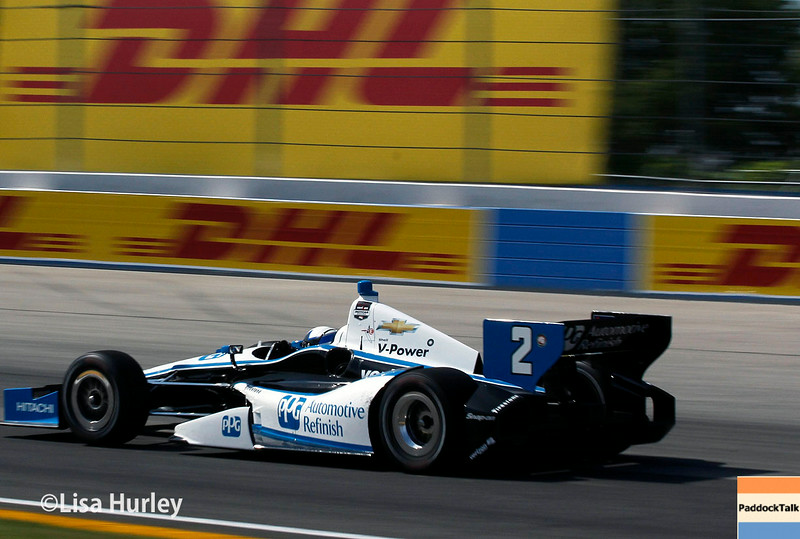 August 17: Juan Montoya at the Wisconsin 250 at Milwaukee Indyfest.