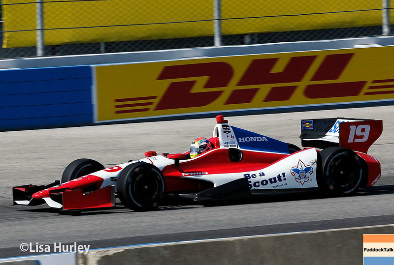 August 17: Justin Wilson at the Wisconsin 250 at Milwaukee Indyfest.
