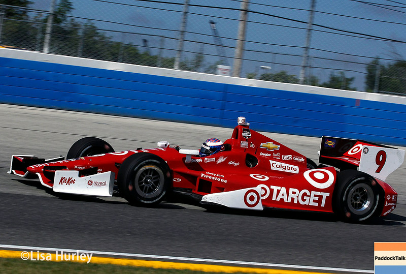 August 17: Scott Dixon at the Wisconsin 250 at Milwaukee Indyfest.
