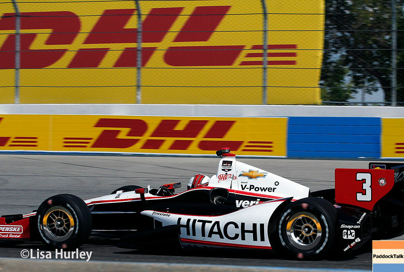 August 16: Helio Castroneves at the Wisconsin 250 at Milwaukee Indyfest.