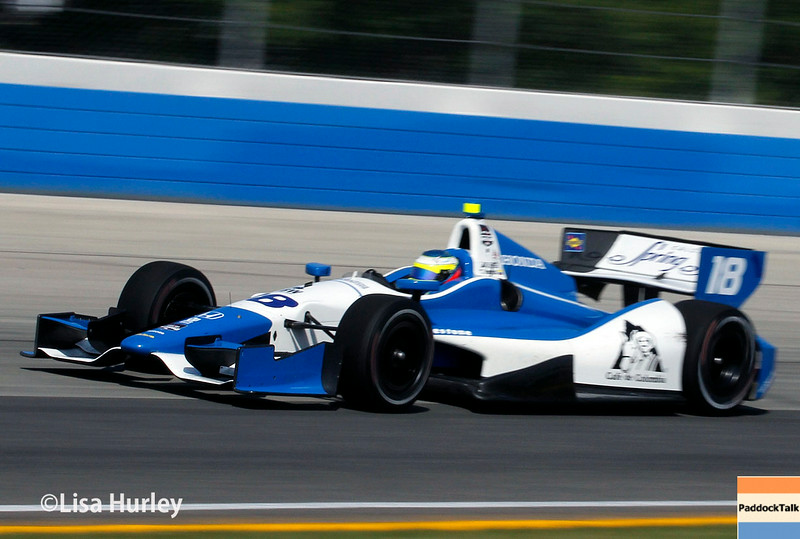August 17: Carlos Huertas at the Wisconsin 250 at Milwaukee Indyfest.