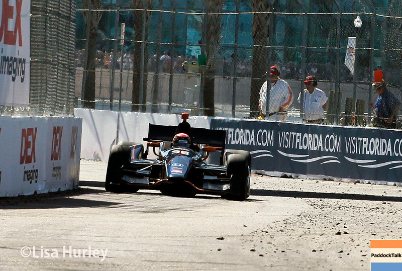 March 30: Jack Hawksworth during the Firestone Grand Prix of St. Petersburg Verizon IndyCar series race.