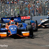 March 30: Track action during the Firestone Grand Prix of St. Petersburg Verizon IndyCar series race.