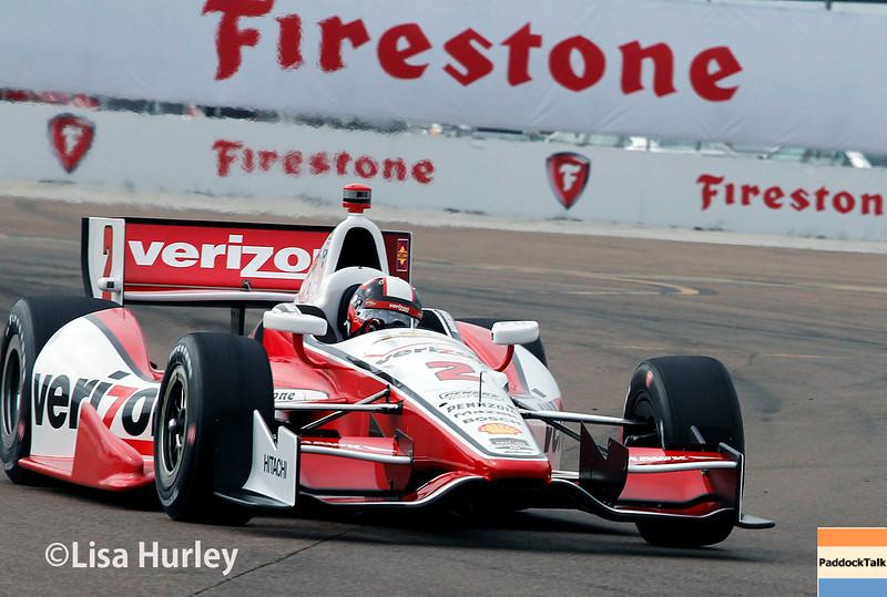 March 28:  Juan Montoya during Verizon IndyCar series practice for the Firestone Grand Prix of St. Petersburg.