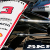 March 30: Helio Castroneves' car before the Firestone Grand Prix of St. Petersburg Verizon IndyCar series race.