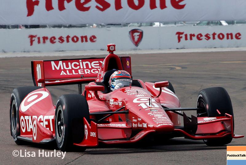 Ganassi IndyCar driver Tony Kanaan