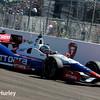 March 30: Ryan Briscoe during the Firestone Grand Prix of St. Petersburg Verizon IndyCar series race.