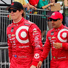 March 28:  Scott Dixon and Tony Kanaan during Verizon IndyCar series practice for the Firestone Grand Prix of St. Petersburg.