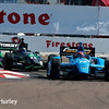March 30: Simon Pagenaud and Sebastien Bourdais during the Firestone Grand Prix of St. Petersburg Verizon IndyCar series race.