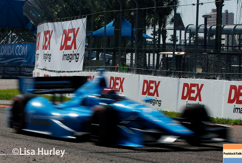 March 30: Simon Pagenaud during the Firestone Grand Prix of St. Petersburg Verizon IndyCar series race.