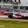 March 30: Justin Wilson and Tony Kanaan during the Firestone Grand Prix of St. Petersburg Verizon IndyCar series race.