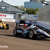 March 30: Will Power and Ryan Hunter-Reay during the Firestone Grand Prix of St. Petersburg Verizon IndyCar series race.