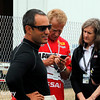 March 28: Juan Montoya during Verizon IndyCar series practice for the Firestone Grand Prix of St. Petersburg.