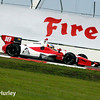 March 29:  Justin Wilson during Verizon IndyCar series qualifying for the Firestone Grand Prix of St. Petersburg.