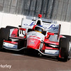 March 28: Carlos Huertas during Verizon IndyCar series practice for the Firestone Grand Prix of St. Petersburg.