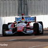 March 28:  Justin Wilson during Verizon IndyCar series practice for the Firestone Grand Prix of St. Petersburg.