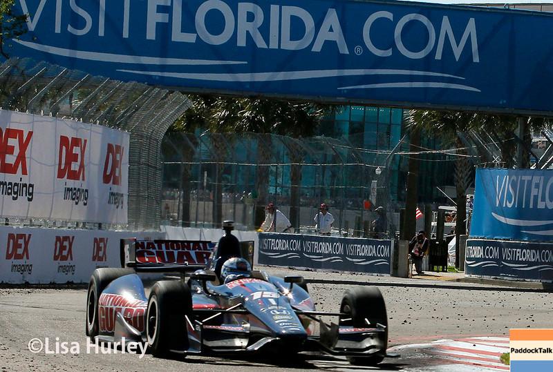 March 30: Graham Rahal during the Firestone Grand Prix of St. Petersburg Verizon IndyCar series race.