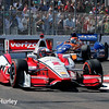 March 30: Juan Montoya and Charlie Kimball during the Firestone Grand Prix of St. Petersburg Verizon IndyCar series race.