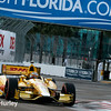 March 29:  Ryan Hunter-Reay during Verizon IndyCar series qualifying for the Firestone Grand Prix of St. Petersburg.