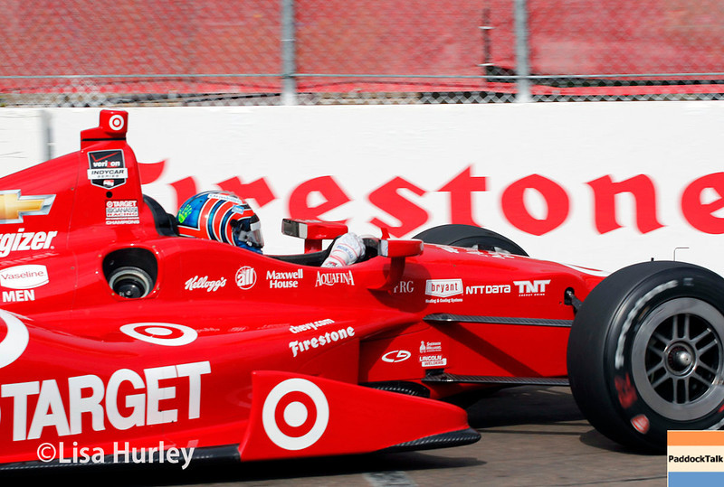 March 28:  Tony Kanaa during Verizon IndyCar series practice for the Firestone Grand Prix of St. Petersburg.