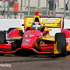 March 28: Sebastian Saavedra during Verizon IndyCar series practice for the Firestone Grand Prix of St. Petersburg.