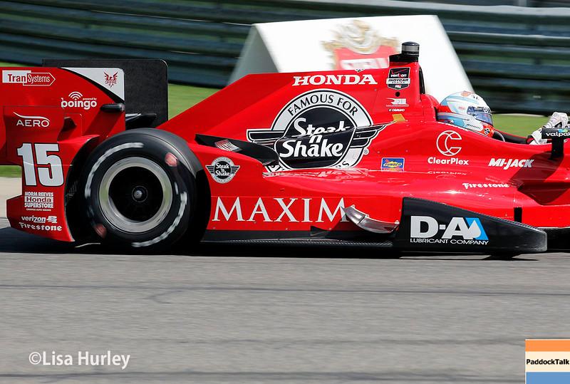 April 26: Graham Rahal during the Honda Indy Grand Prix of Alabama.
