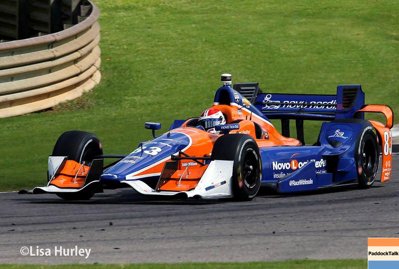 April 26:  Charlie Kimball during the Honda Indy Grand Prix of Alabama.