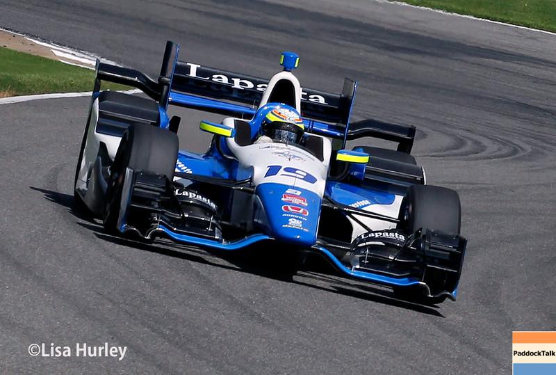 April 26: Francesco Dracone during the Honda Indy Grand Prix of Alabama.