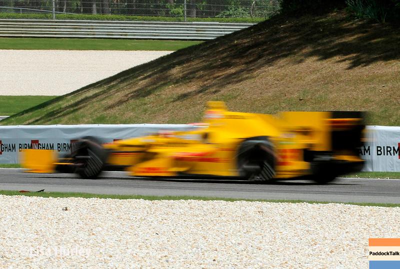 April 26:  Ryan Huner-Reay during the Honda Indy Grand Prix of Alabama.