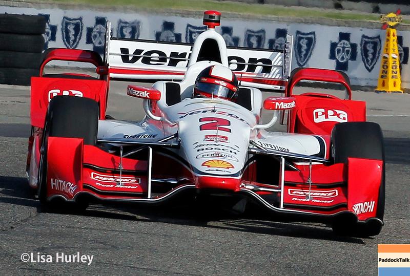 May 30: Juan Pablo Montoya during the Chevrolet Dual in Detroit.