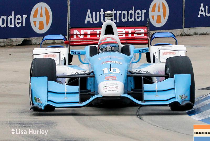 May 30: Tony Kanaan during the Chevrolet Dual in Detroit.