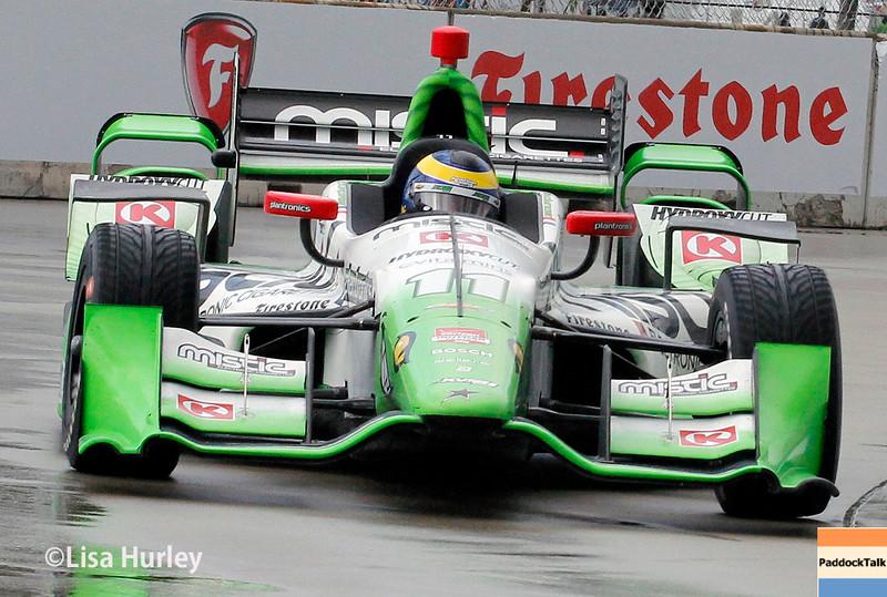 May 30: Sebastien Bourdais during the Chevrolet Dual in Detroit.