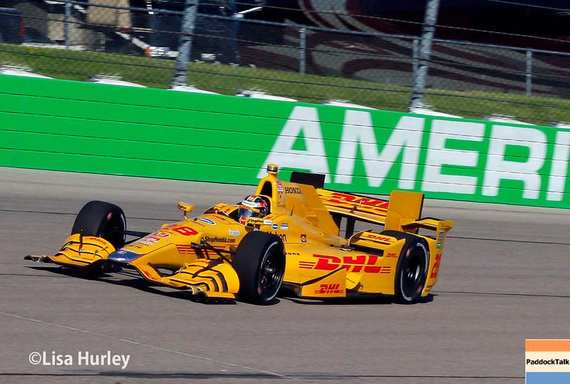 July 17-18: Ryan Hunter-Reay during the Iowa Corn 300.