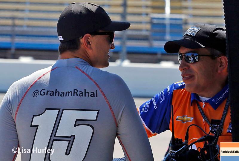 July 17-18: Graham Rahal during the Iowa Corn 300.